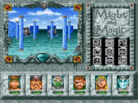 Might and Magic III - SNES